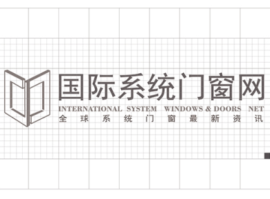 国际系统门窗网logo